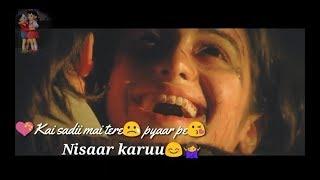 Tujhe main pyaar karu WhatsApp status very Heart Touching Whatapp status