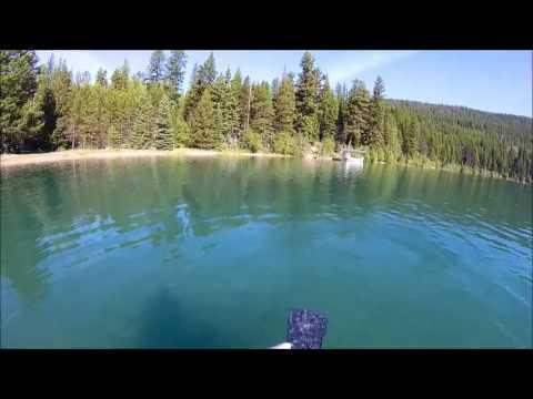 Fly Fishing Glacier National Park - Bowman Lake