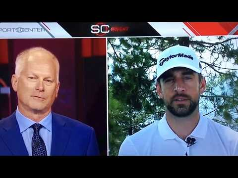Kenny Mayne asking Aaron Rodgers about Colin Kaepernick on Sportscenter