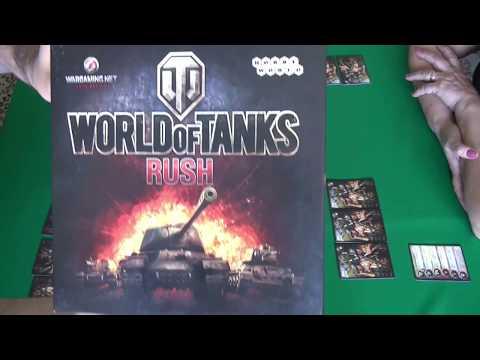 World Of Tanks: Rush - играем в настольную игру.