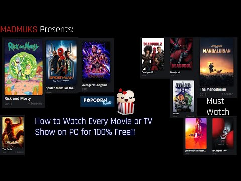 How to Watch Movies and TV Shows for free on PC! (No ads or BS)