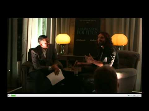 Mehdi Hasan interviews Russell Brand for The Huffington Post