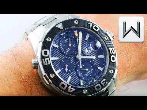TAG Heuer Aquaracer 500 Chronograph (CAJ2110.BA0872) Dive Watch Luxury Watch Review