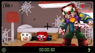 VERSTECKEN GEGEN KILLER CLOWN! (Minecraft)