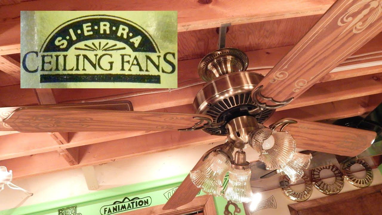 Sierra Ceiling Fan
