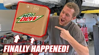 Download MOUNTAIN DEW SENT US A BOX... **Bardle Skeet Alert** (this is not a drill) Mp3 and Videos