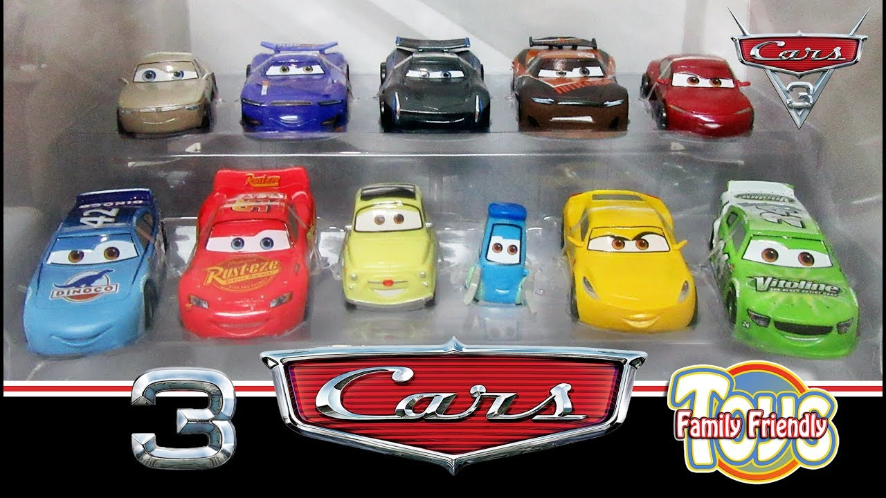 cars 3 deluxe figurine playset from the disney store review youtube. Black Bedroom Furniture Sets. Home Design Ideas