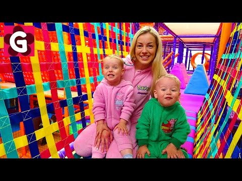 Thumbnail: Indoor Playground Family Fun Play Area for Kids / Baby Playing and having Fun