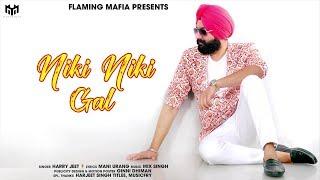 Niki Niki Gal (Motion Poster) Harry Jeet | Mix Singh | Flaming Mafia
