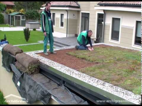 ArchiGreen® Ltd - Building an extensive green roof in a couple of hours