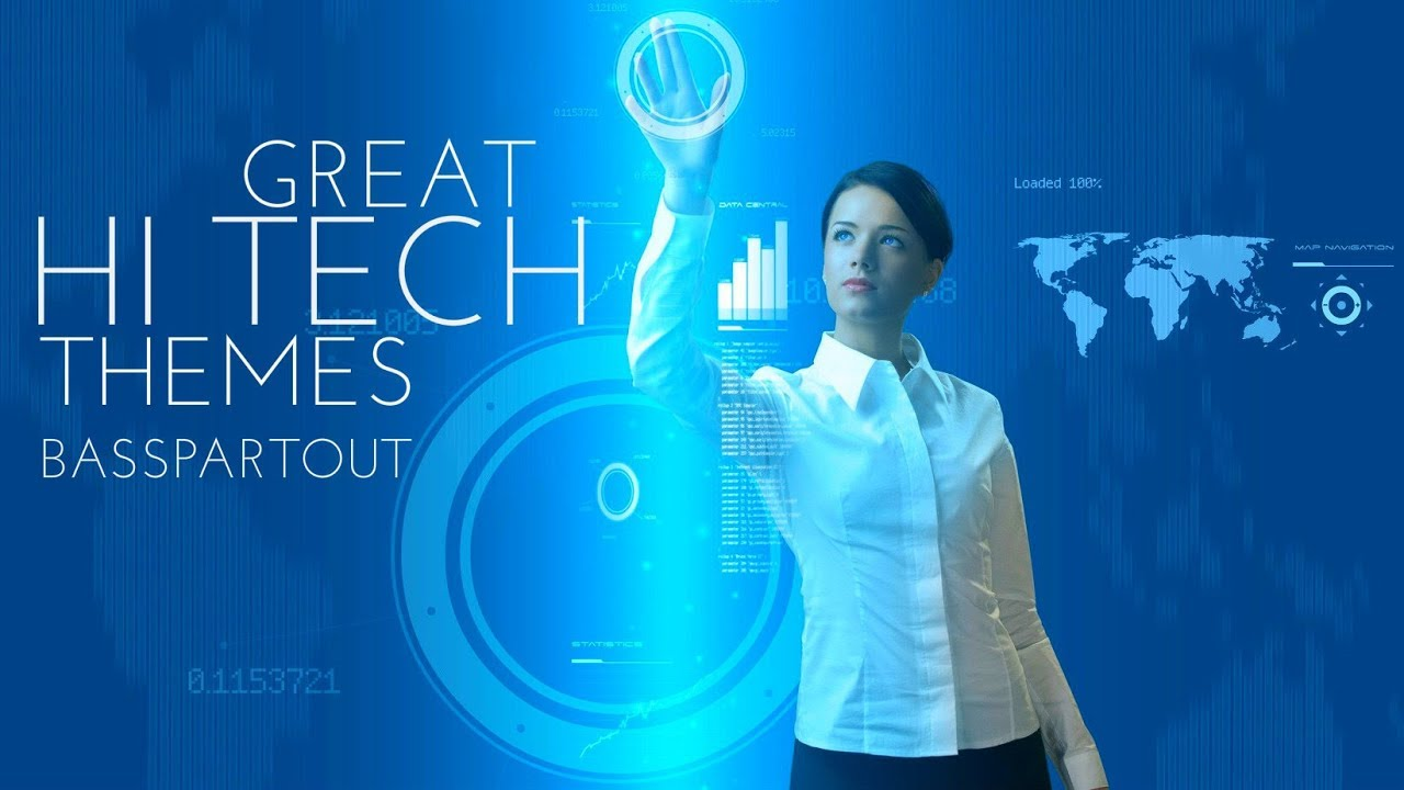 Great Hi-Tech Themes - Best Electronic Instrumental Background Music for Video And Presentations
