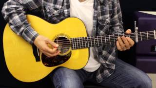 Axis Of Four Chords The Scientist - Coldplay - Acoustic Guitar Lesson - How To Play