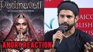 Farhan Akhtar ANGRY REACTION On Padmavati Controversy   Deepika, Ranveer Singh, Shahid Kapoor