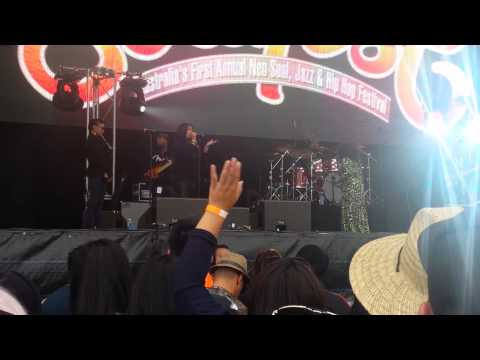 Angie Stone Guilty Soulfest 2014 Auckland