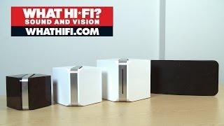 bluesound multiroom speaker system  full range unboxing