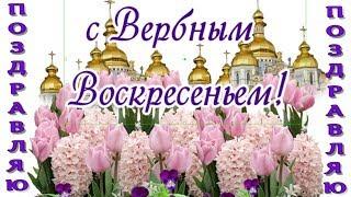 С Вербным воскресеньем в ВЕРБНОЕ ВОСКРЕСЕНЬЕ самые красивые поздравления и пожелания