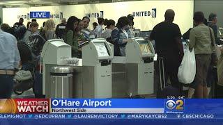 Runways Flooded Houston Hobby Airport Flights Canceled
