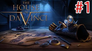 The House Of Da Vinci - Walkthrough Gameplay   Ios / Android / Steam  - Part 1