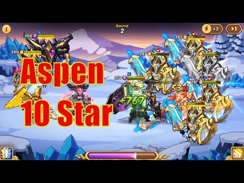 IDLE HEROES MOD - SEPTEMBER #7   Aspen 10 Star   Kim Cuong