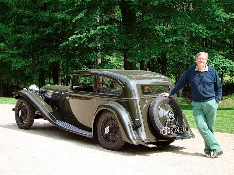 Edward Herrmann 1934 Alvis Speed 20 SB Two Door Saloon by Vanden Plas