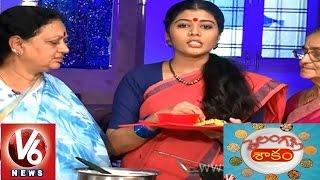 V6 Telangana Shakam - 'Ambali' and 'Mokkajonna Gudalu' recipe