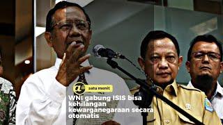 WNI gabung ISIS bisa kehilangan kewarganegaraan secara otomatis