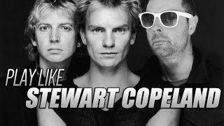 Play Drums like Stewart Copeland - The 80/20 Drummer