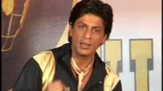 SRK launches Kolkata KNIGHT RIDERS