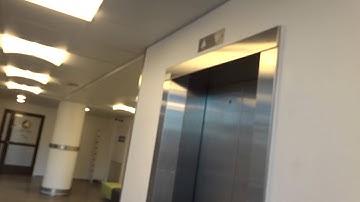 Amazing old 1987 KONE M Classic Traction Elevators/Lifts@Ratamestarinkatu 11, Pasila, Helsinki, FI
