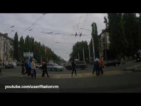 ДТП на Ленинском проспекте. Воронеж 15.09.16
