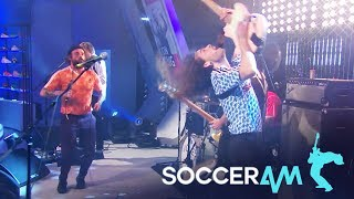 IDLES | Never Fight A Man With A Perm (Live on Soccer AM)