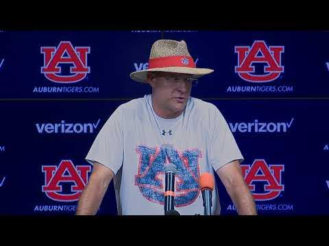 Press Conference | Auburn Coach Gus Malzahn (Aug. 23)