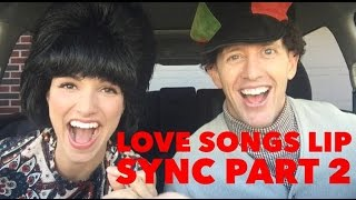 LOVE SONGS OF THE DECADES LIP SYNC - PART 2 | Kristin and Danny