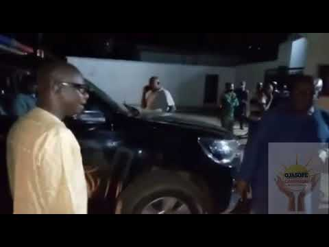 Drama in Ondo As CP Resisted Deputy Governor, Agboola from moving out of govt house with official vehicle(video)
