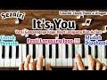 Chord Piano It's You Sezairi