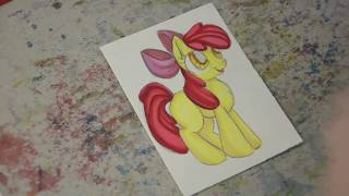 Speed drawing MLP - Cutie Mark Crusaders