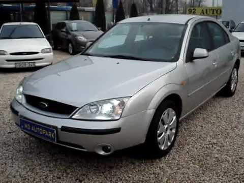 ford mondeo 2 0 ghia youtube. Black Bedroom Furniture Sets. Home Design Ideas