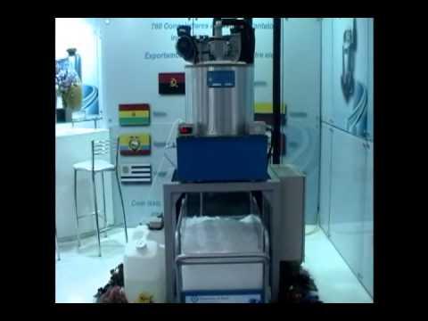 2d4b07c66 Máquina de gelo em escamas - 500Kg dia - Frigostrella do Brasil ...