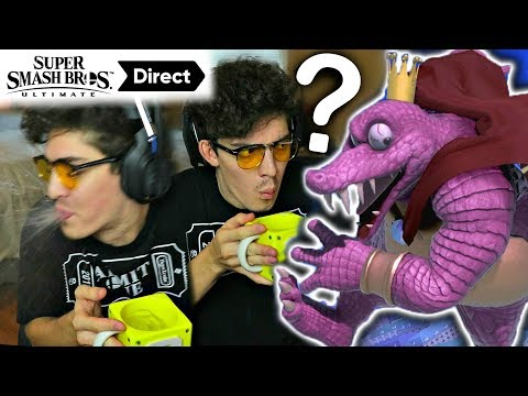 CND's REACTION HIGHLIGHTS to the Super Smash Bros Ultimate Direct!