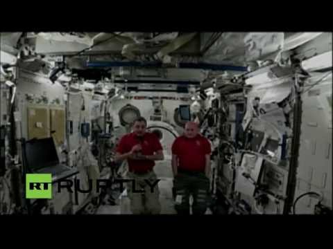 EXCLUSIVE LIVE: RT talks life in space with ISS crew