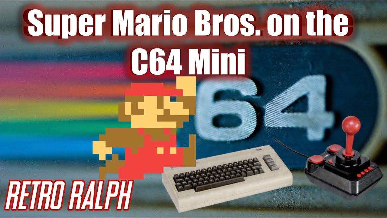 Super Mario Bros  on the Commodore 64 Mini - Retro Ralph - THFilm pro