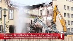Kurhaushotel Steigenberger in Bad Kissingen wird abgerissen