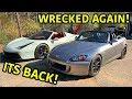 Wrecked Honda S2000 Is Finally Back!!!