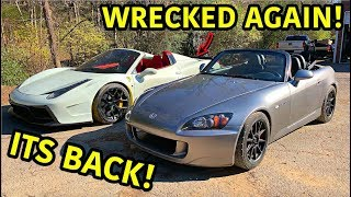 Wrecked Honda S2000 Is Finally Back!!!