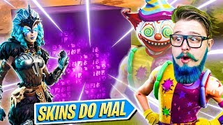 ☆ NEW SKINS OF EVIL ☆ AND NEWS ABOUT THE CUBE! -FORTNITE