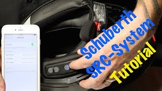How to use & operate Schuberth SRC Bluetooth Headset System for C3 Modular Helmet-Complete Guide
