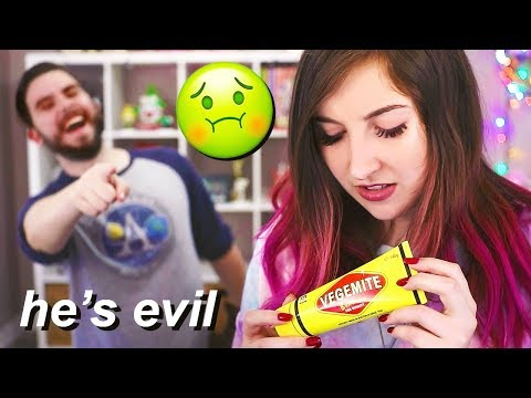 Boyfriend Made Me Try Australian Candy...and it was NASTY