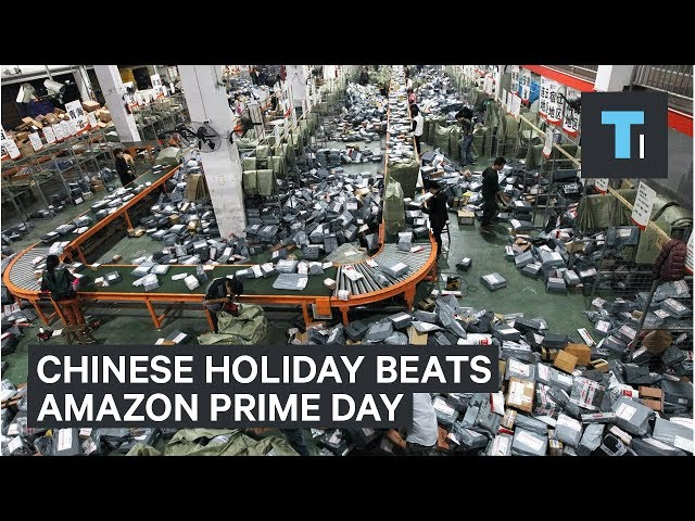 "Amazon's ""Prime Day"" has nothing on Alibaba's ""Singles' Day"""