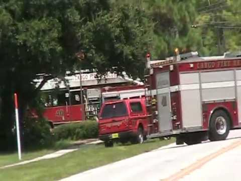 GAS LEAK RIGHT NEXT TO LARGO FIRE STATION