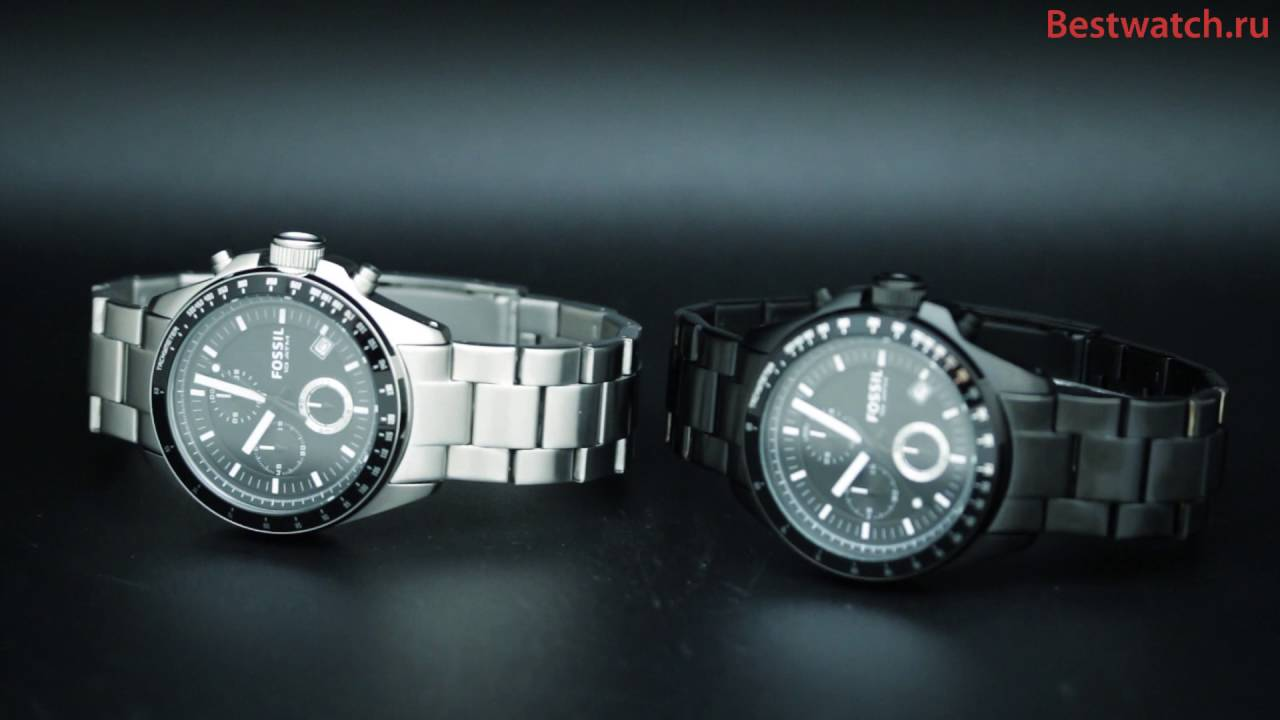 Fossil Ch2600 Ch2601 Youtube